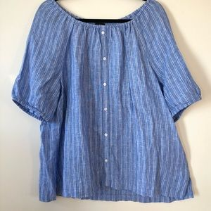 NWT Talbots off the shoulder blouse